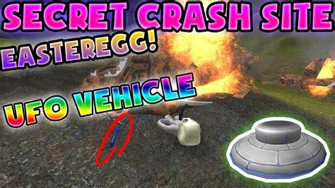 roblox crash error unexpected vehicle simulator secret crash site secret ufo vehicl