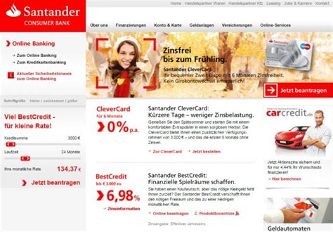 santander bank finanzierung abgelehnt meine erfahrungen mit der santander card