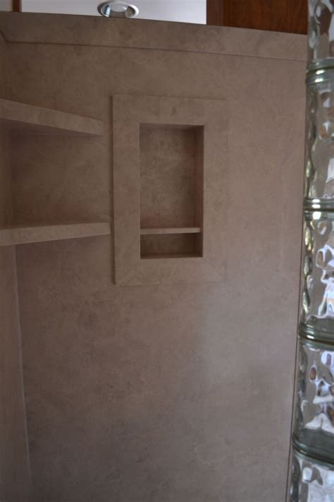 Diy Shower by Glass Block Walk In Shower With Diy Interior Shower Wall