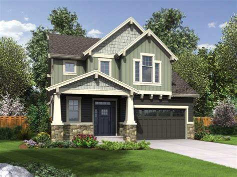narrow house plans  front garage narrow house plans