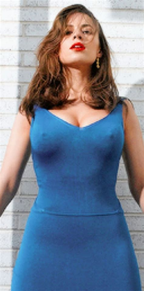 haley bennett agent agent carter hayley atwell with some angry nips hayley