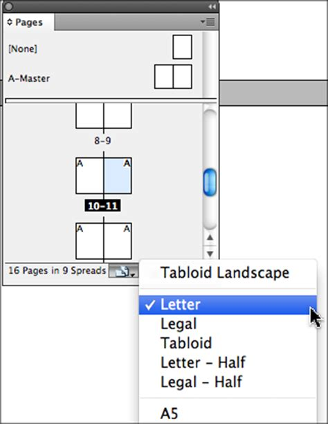 change layout to landscape in indesign creating mixed page orientations in the same layout