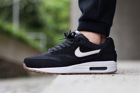 Nike Airmax One Black White nike air max 1 essential black white gum sneaker bar detroit