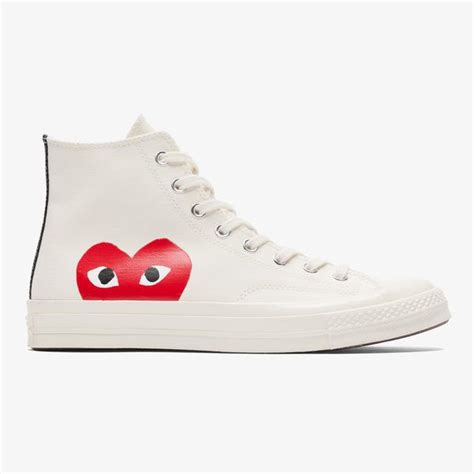 Sale Sepatu Converse Ox 70s Come De Garcons converse x cdg play ct 70 hi milk white bows and arrows