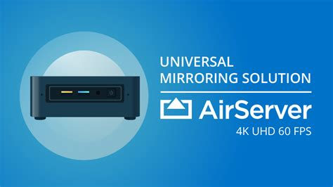 airserver universal airserver universal the most advanced airplay miracast