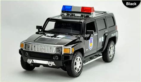 Diecast Jeep Jeep Hummer 4x4 Big Foot By Shimura 2017 1 24 scale alloy metal diecast forpolice car model for hummer h3 collection model toys car