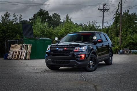 ford explorer light bar ford police interceptor utility gets subtle no profile