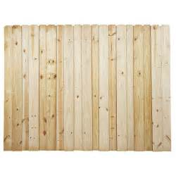 home depot fence boards 6 ft h x 8 ft w pressure treated pine board on board