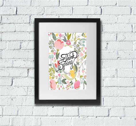 printable poster art free printable wall art spring poster the graffical muse