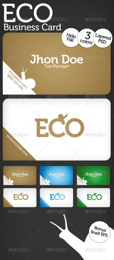 eco business card templates cardview net business card visit card design