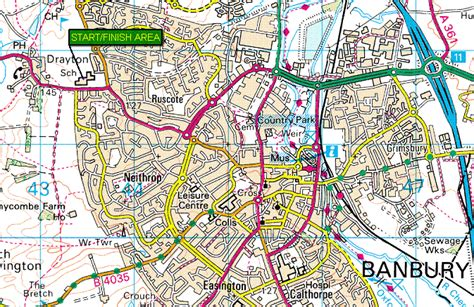 banbury map uk venue maps