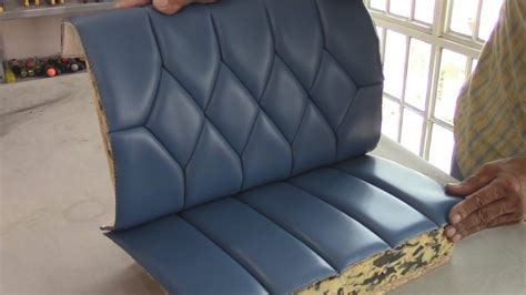 Learn Auto Upholstery by Blind Stiches On Figures Upholstery Basics