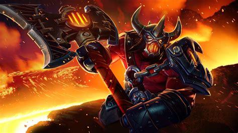 game wallpaper set axe harbinger set dota 2 wallpaper hd