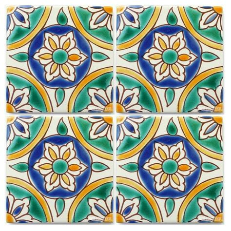 mediterranean tile green mediterranean ceramic tile green colonial