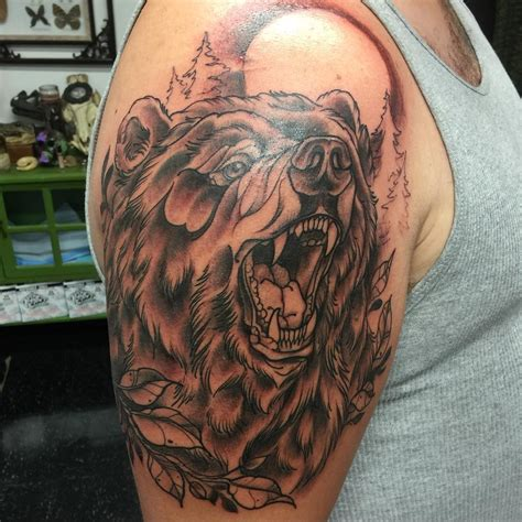 bear tattoo meaning 85 designs meanings feel the