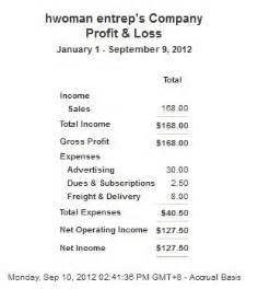 simple p l template how to prepare a profit and loss statement easily