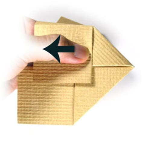 How To Make House Origami - how to make a 3d origami house page 10