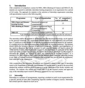 Internship Report Outline by 6 Sle Internship Report Free Sle Exle Format