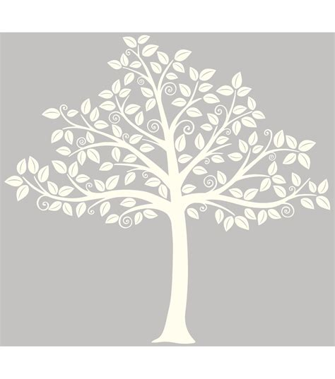 Family Tree Wall Murals wall pops silhouette tree wall art decal kit 129 piece