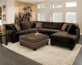 Brown Sectional Sofa With Chaise Chocolate Brown Sectional Sofa With Chaise Cleanupflorida