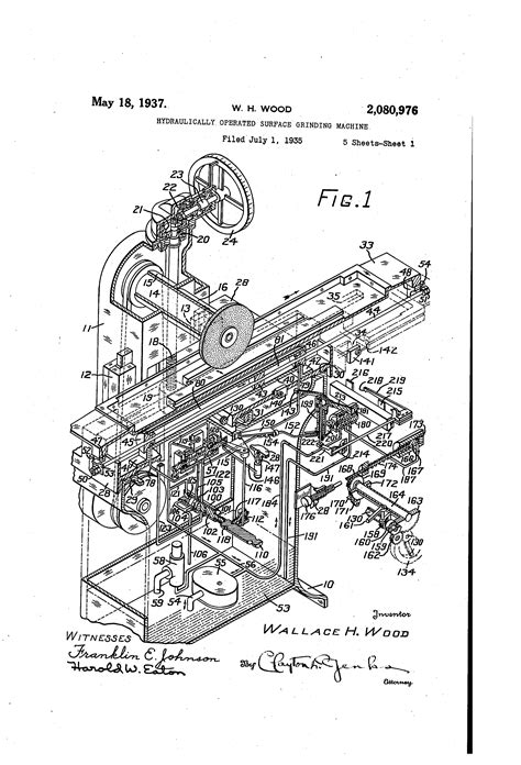 surface grinder diagram schematic diagram of surface machine best