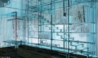santambrogio glass house amazing see through home daily
