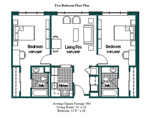 student housing floor plans floor plans 183 rosalind franklin university