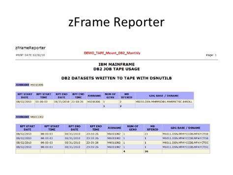 ci reporter z framereporter demo bci viador 2010dec02