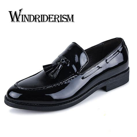 patent leather mens oxford shoes for wedding dress