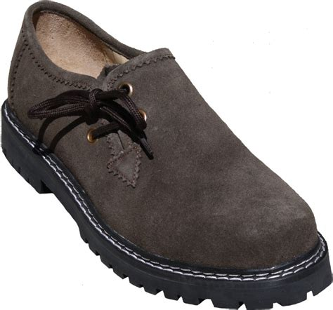 bavarian traditional haferl lederhosen shoes cow suede