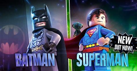 Lego Superman Vs Batman lego dimensions batman vs superman trailer cosmic book