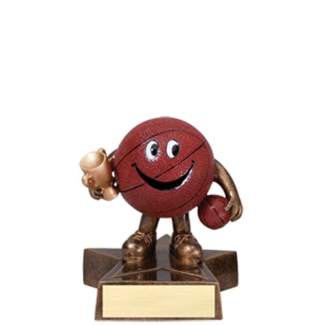 bobblehead basketball trophy youth basketball bobblehead trophy 6 quot basketball