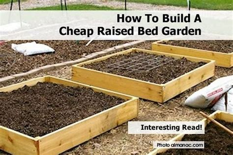 raised bed gardening a diy guide to raised bed gardening books how to build a cheap raised bed garden