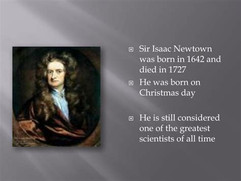 biography of isaac newton ppt ppt sir isaac newton powerpoint presentation id 2167673