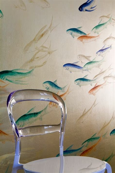 wallpaper  fish    walls gallery