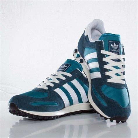 Sepatu Kets Adidas Green Editions Baru Sepatu Sneakers Wanita Murah adidas originals la trainer teal petrol