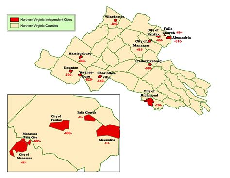 northern virginia map northern virginia map with cities afputra