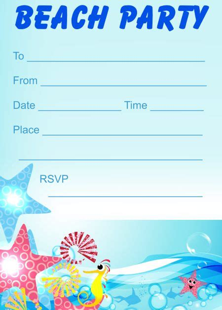 design template artinya invitation templates for beach party choice image