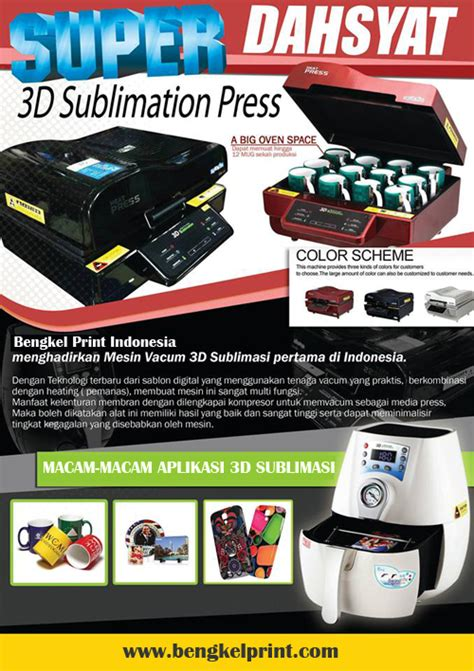 Printer 3d Bandung mesin cetak 3d sublimasi printer 3d mesin dtg printer