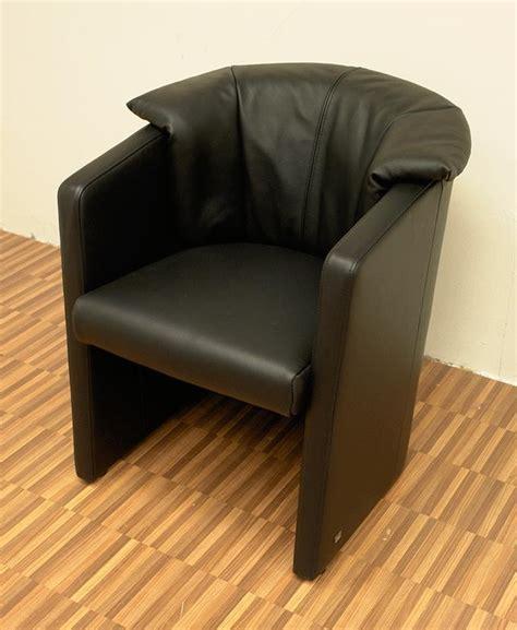 stuhl sessel leder rolf mod 390 sessel stuhl leder schwarz ebay