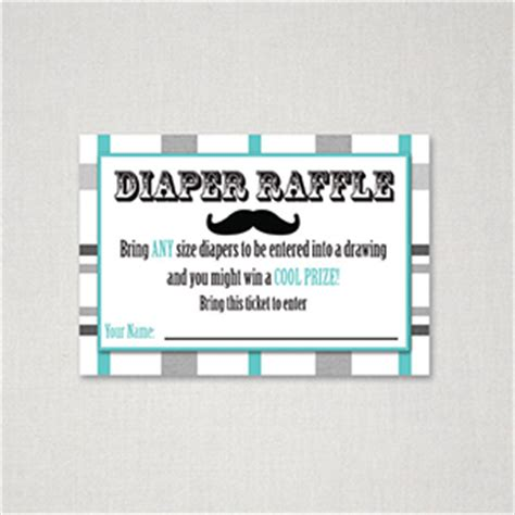 free printable diaper raffle tickets mustache mustache theme free printable diaper raffle ticket