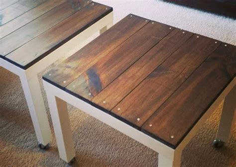 recycled pallets and 2 ikea lacks made an awesome rustic 101 epic ikea hacks for your home