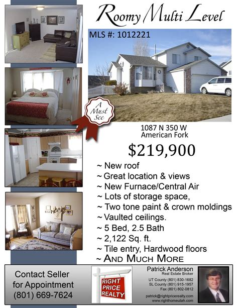 doc 622800 home for sale flyers bizdoska com