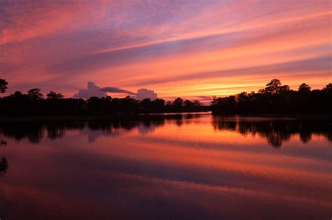 sunset 7 august 2012 in salisbury maryland on the