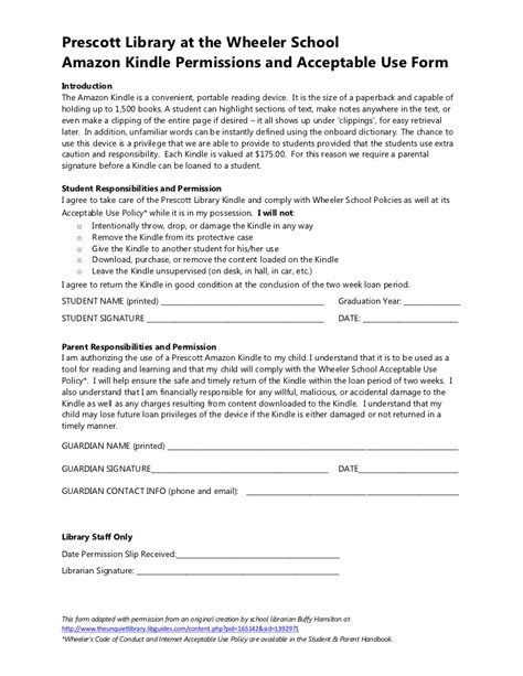 Sle Of Letter Of Consent For Research Kindle Consent Form