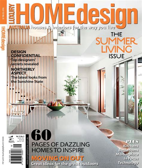 home design and decor magazine readership increases for luxury home design