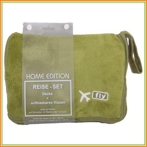 Decke Kissen Set by Reise Set Fleece Decke Aufblasbares Kissen Reisedecke