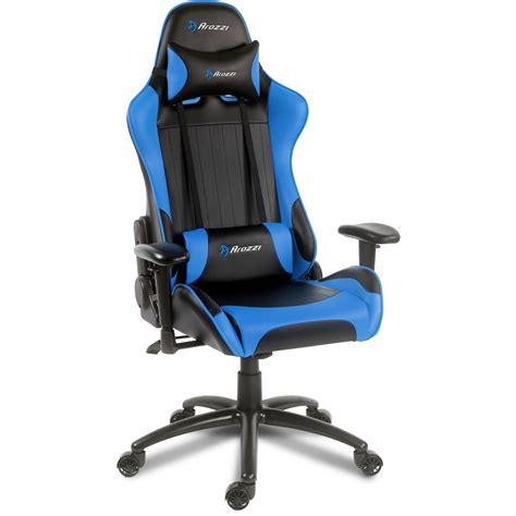 blue gaming chair arozzi verona gaming chair blue verona bl b h photo