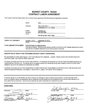 Independent Consultant Contract Template Forms Fillable Printable Sles For Pdf Word Independent Consultant Contract Template