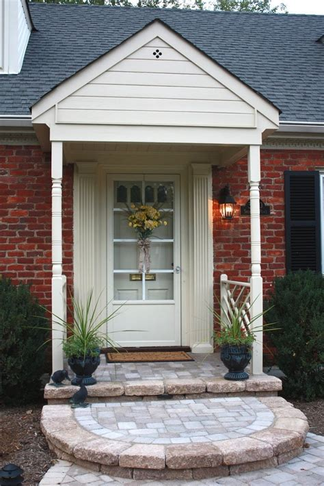 small porch ideas with charming decoration